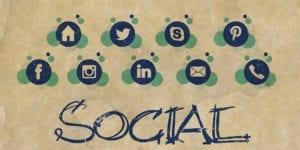 personal vs business social media