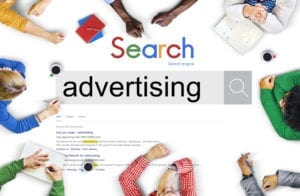 search engine advertising picture with an example of an ad