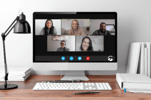 summit creative marketing on zoom screen